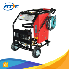 High pressure hydro-jet cleaning machine 6.5Hp, pressure washer gasoline, hot water pressure washer