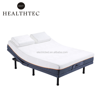 China Supplier King Size V3 Electric Adjustable Massage Bed Frame