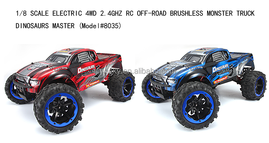 Fedex Trucks For Sale >> 2015 Toysky New Hobby Toy 2.4ghz 1/8 Brushless Electric Remote Control Car Trucks Big Wheels ...