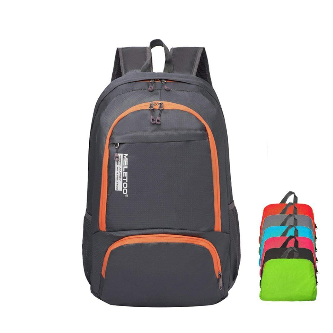 166114fbb0 Get Quotations · Bagspert Foldable Backpack Ultra Lightweight Travel 30L  Daypack Water Resistant Nylon Day Bag Packable in Pouch