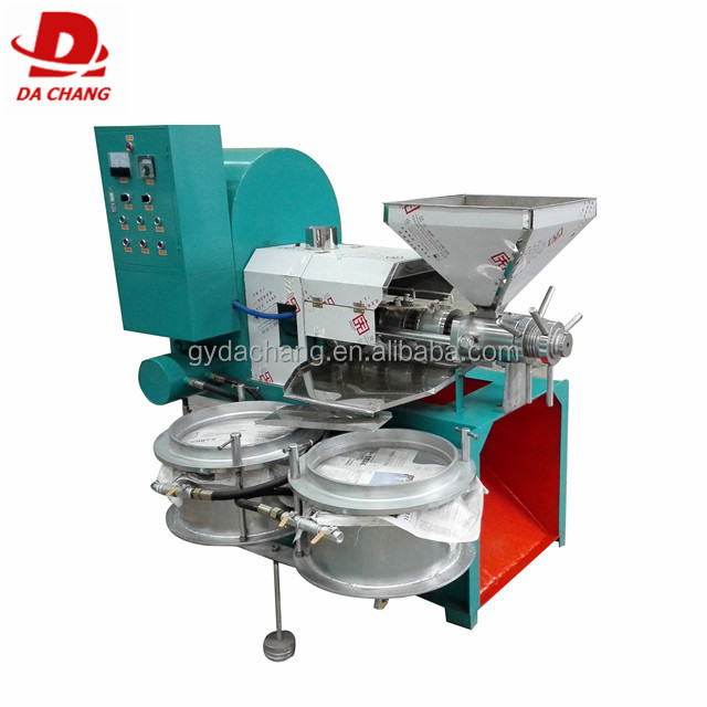 China best Dachang 6YL-100 type sesame screw oil pressing machine coconut milk screw press machine