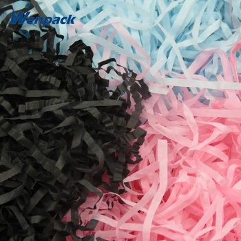 Package Black Shredded Tissue Filler Paper