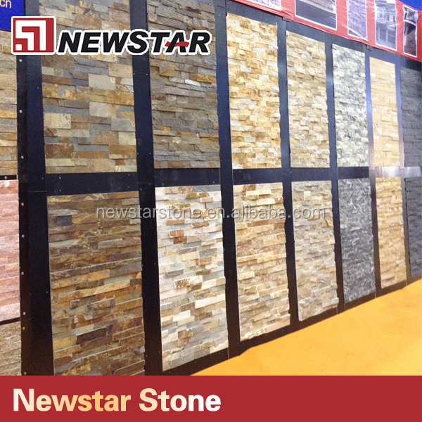 exterior revestimiento de pared de piedra piedra natural revestimiento de la pared - Revestimiento Exterior