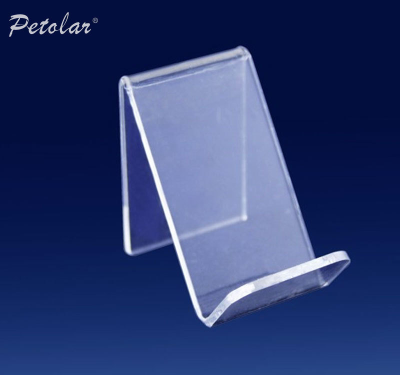 Transparent High End Small Acrylic Mobile Phone Display Stand ...