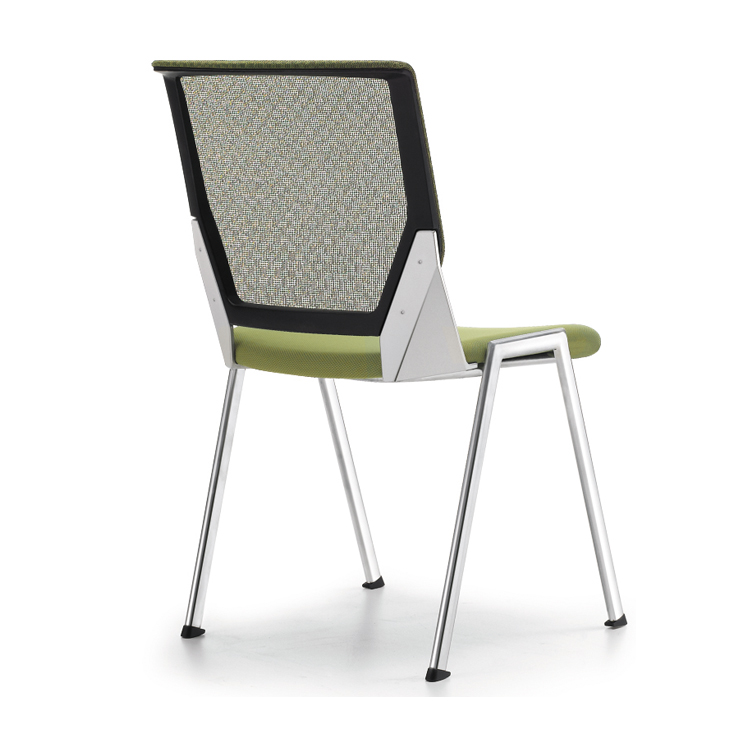 Ventilated mesh back conference chair for conference