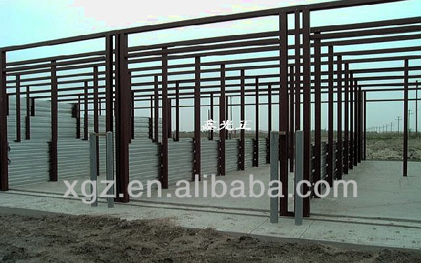 Prefabricated Steel Structure Mini Self Storage Shed Warehouse Building
