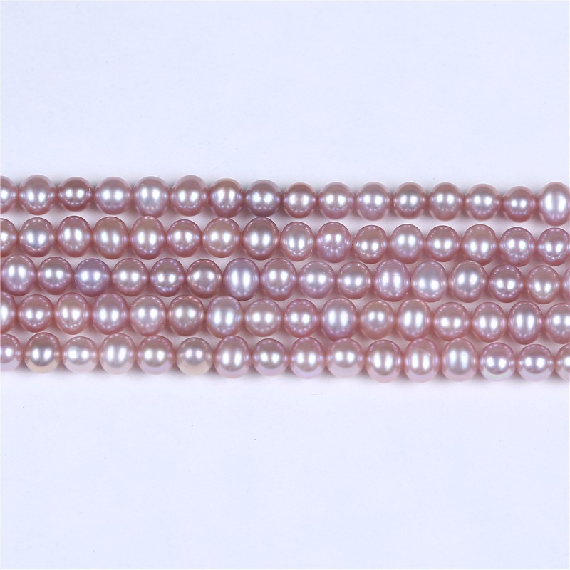 "Freshwater Pearl Beads DIY For Bracelet Necklace Making Beads Strand 16"" Wholesale"
