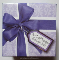 50 Mixed All Occasion Greeting Cards in paper Box