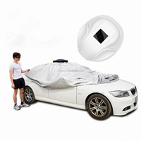 2018 Tonsim Sunclose Heated Car Cover Electric Auto Sun Tent Cover for Car