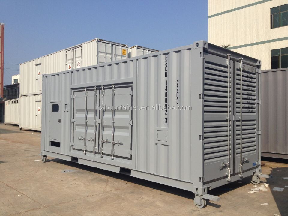 Manufacture custom sized Generator Set Container