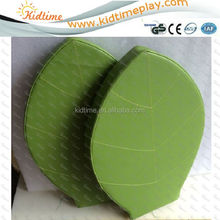 Kids leaf shape floor cushion