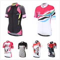 Cycling Jersey Women Bike Wear Outdoor Sports Girls Short Sleeve Tops Quick Dry Breathable maillot ciclismo
