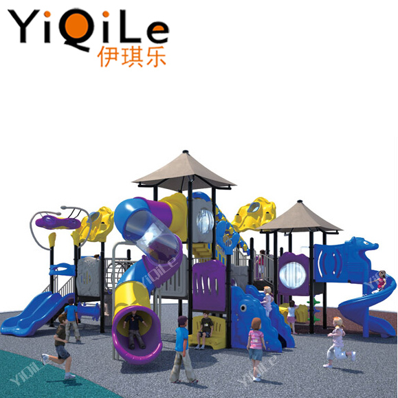 Newest juegos infantiles playground attractive outdoor plastic playsets for kids outdoor entertainment equipment