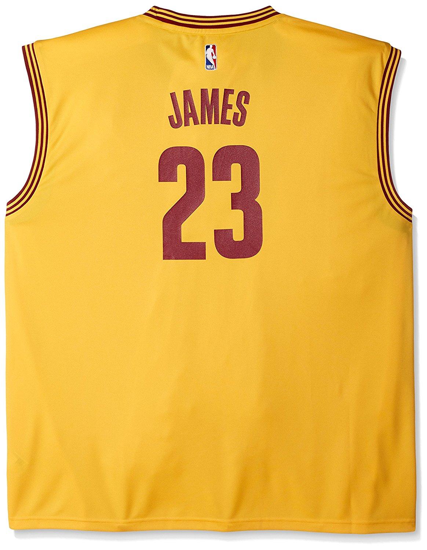 official photos 4a7ff 5f942 Buy NBA Cleveland Cavaliers LeBron James #23 Mens Replica ...