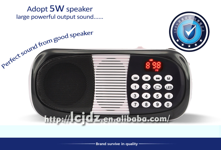 L-198 mp3 player digital manual, isi ulang mp3 player dengan built in speaker