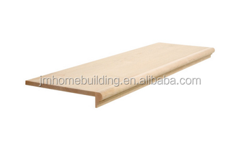 Captivating Stair Step Tread With Bull Nose One Side For Home Stair Building