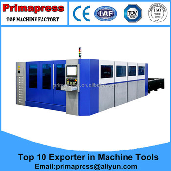 Exchangeable auto loading laser cutter price for metal laser cutting machine thick metal sheet