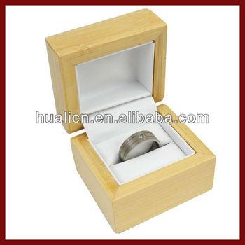 customized bamboo cheap ring box buy cheap ring