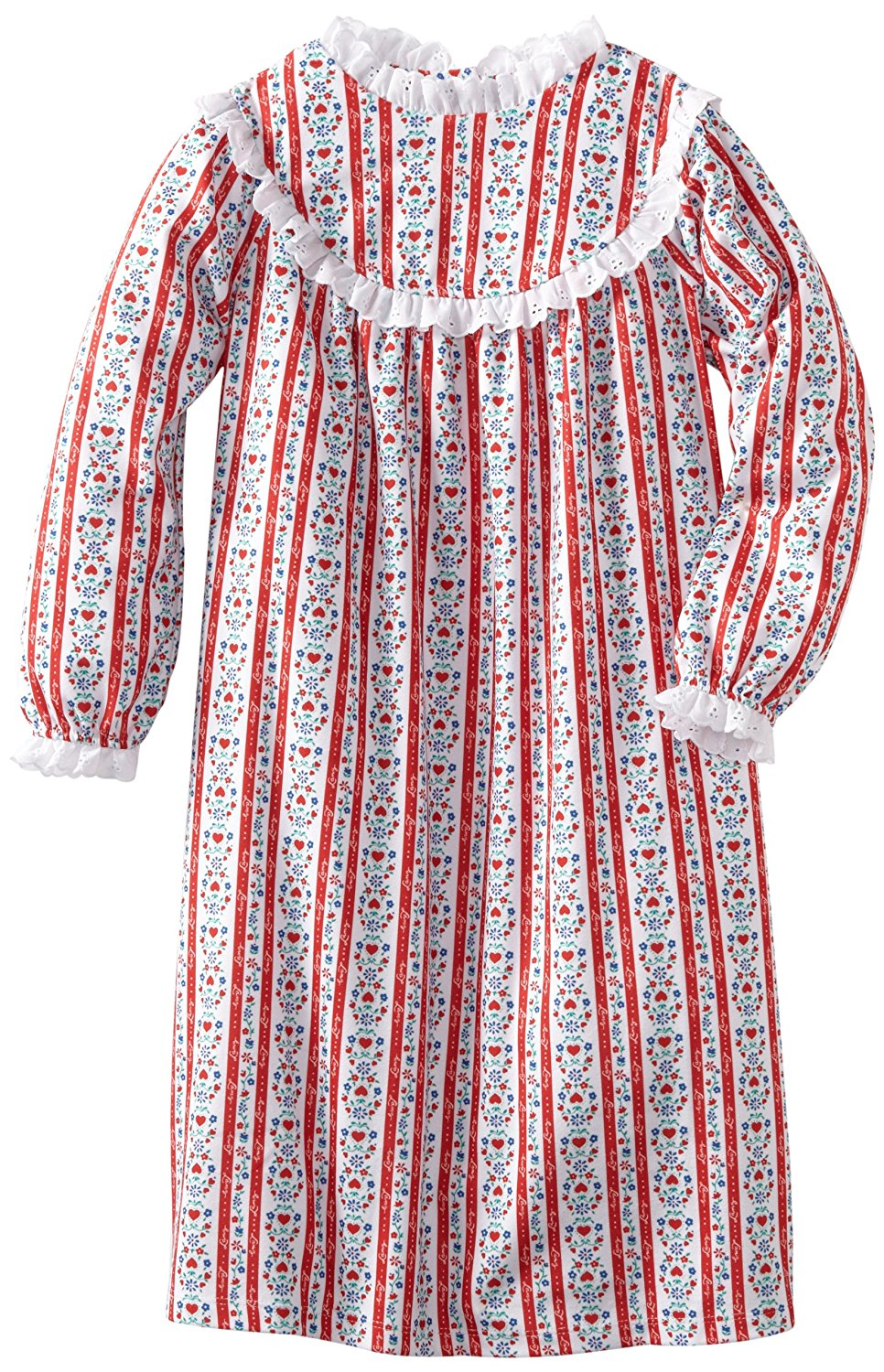 cd456cd62c2d Buy Lanz of Salzburg Red Tyrolean Pajamas for Girls in Cheap Price ...