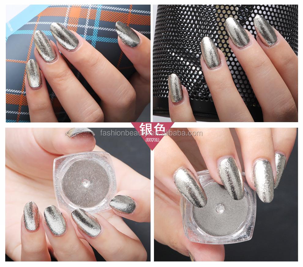 Nail Chrome Magic Color Powder Mirror Effect Hologram Nails