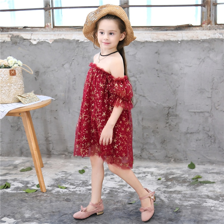 latest baby frock designs fashion A-line dress flower girls dresses for 3-11 years