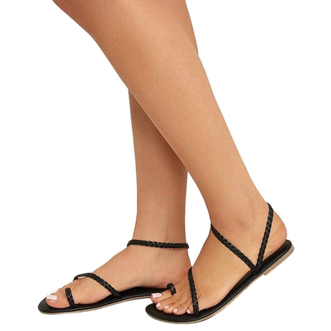 a58d1fbc7338d2 Get Quotations · Gyoume Flat Sandals Shoes