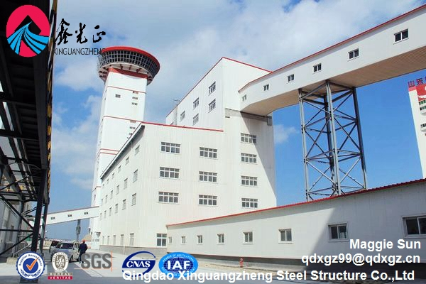 High quality prefabricated construction buildings design steel structure warehouse