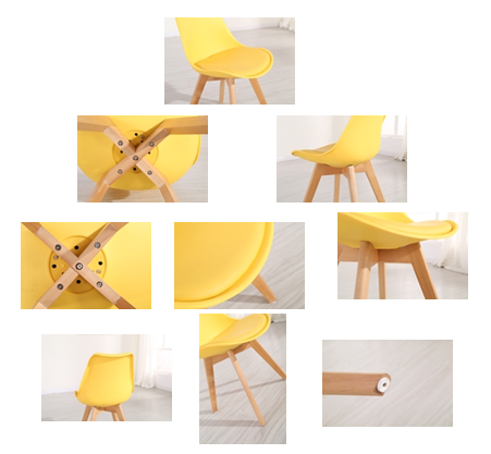 Pw072 Plastic Chair With Cushion China Manufacturer Plastic Chairs ...