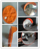 hollow lens convex mirror and concaved security mirrors/ spherical glass