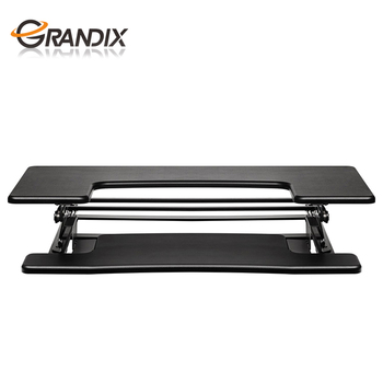 innovative modern desk exclusive office. 2017 Innovative Modern Office Standing Desk Preassembled Adjustable Height Stand Up Computer Workstation Lift Rising Exclusive E