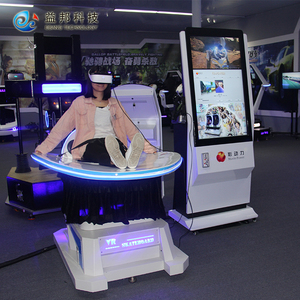 Newest Amusement Guangzhou Manufacturer 9d vr simulator ride 5d cinema with Oculus Rift VR headsets
