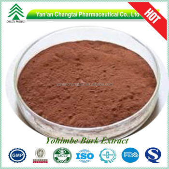 Hot Sale GMP Factory Yohimbe Bark Extract Powder sex stamina