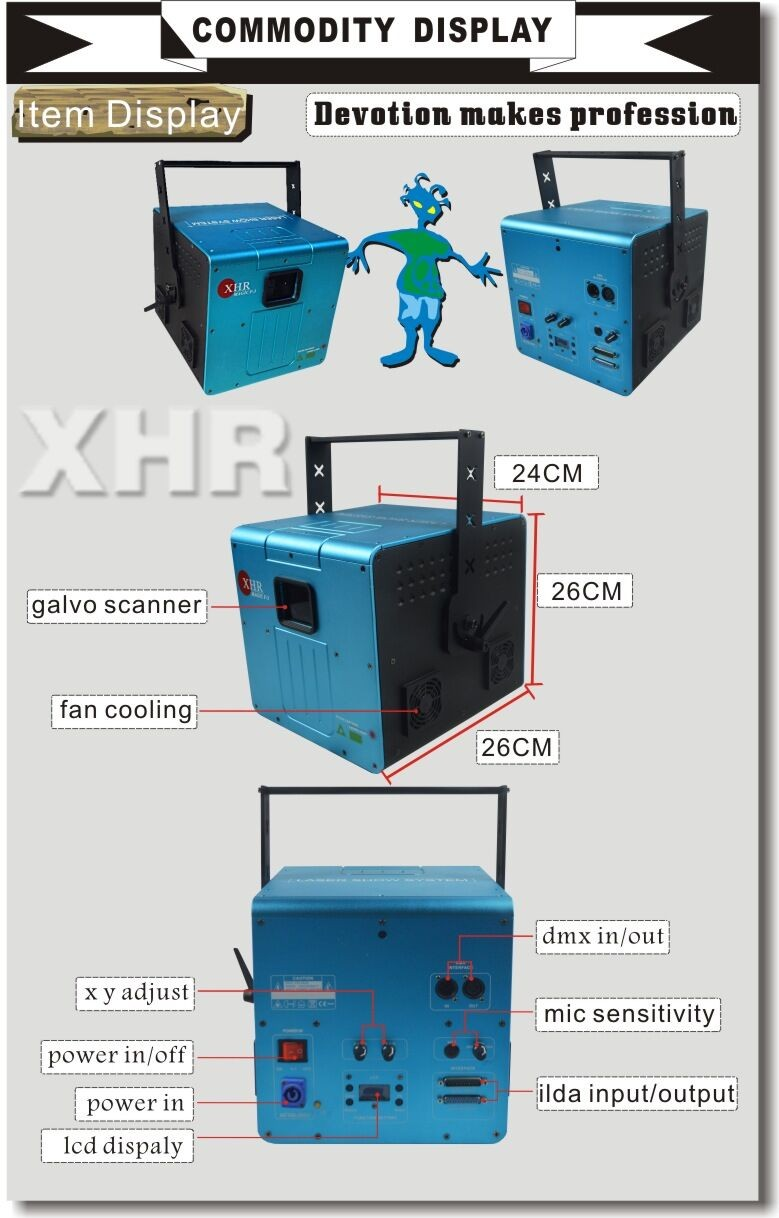 Dmx Logo/animation Laser Projector /outdoor Animated Christmas Lights