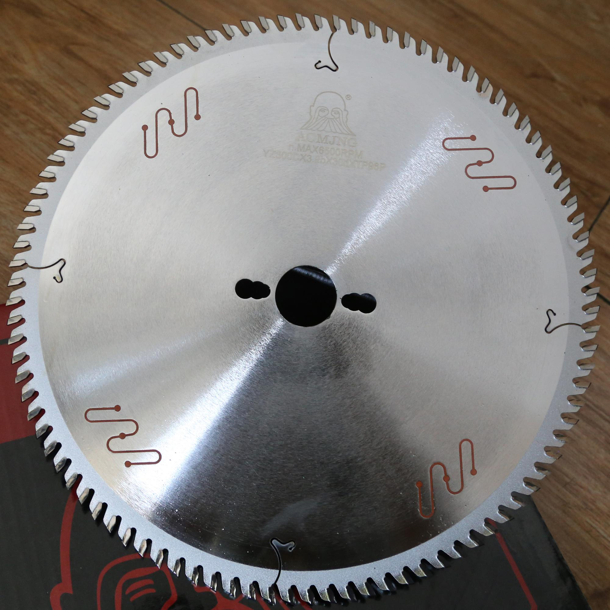 Blanks / polished Tungsten Carbide Steel Blade Material tct circular saw blades for wood cutting