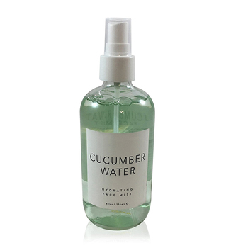 cucumber water for face