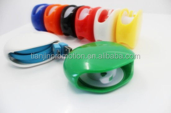 New arrival Auto earphone cable organizer creative recoil automatic cable winder bobbin winder