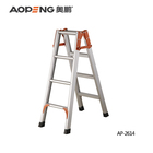 Aopeng hot selling safety household aluminum scaffolding 4 step folding ladder price