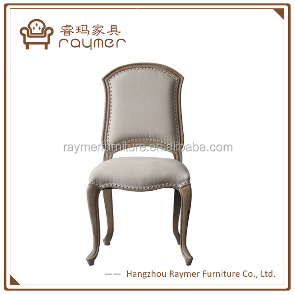 Dining Room Cream Linen French Upholstered Old Wooden Chairs - Buy Antique  Wood Chair,Wood Design Dining Chair,Antique Wood Dining Chair Product on ...