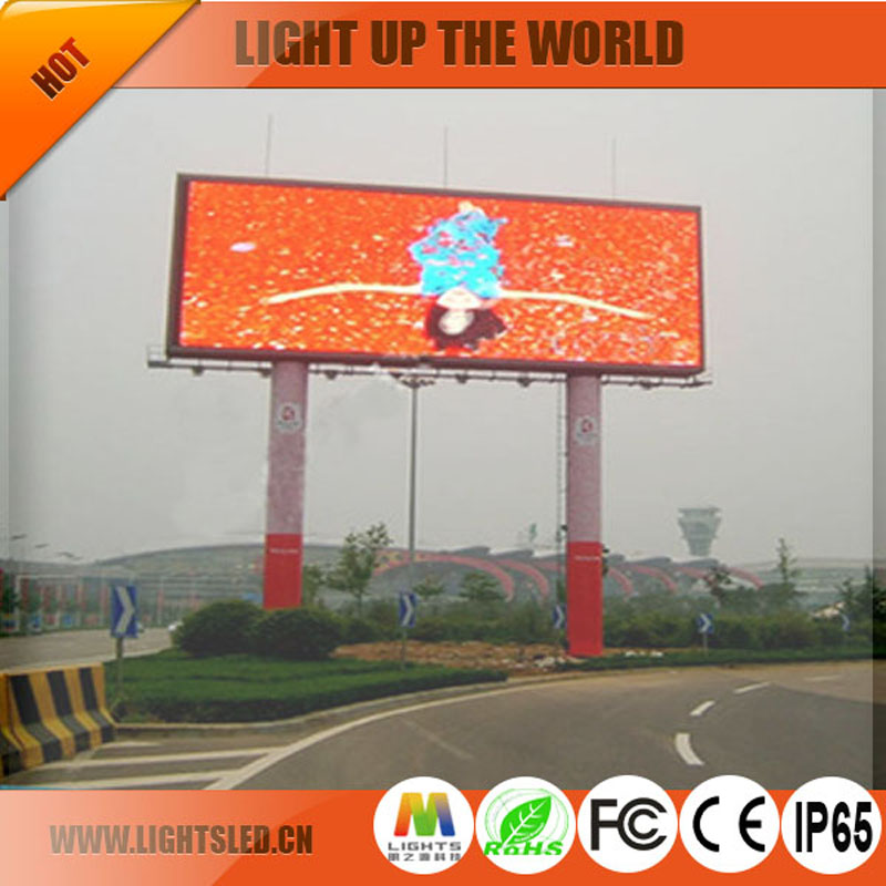 Cost price 16x16 Outdoor RGB DIP P10 LED Display Module for sale