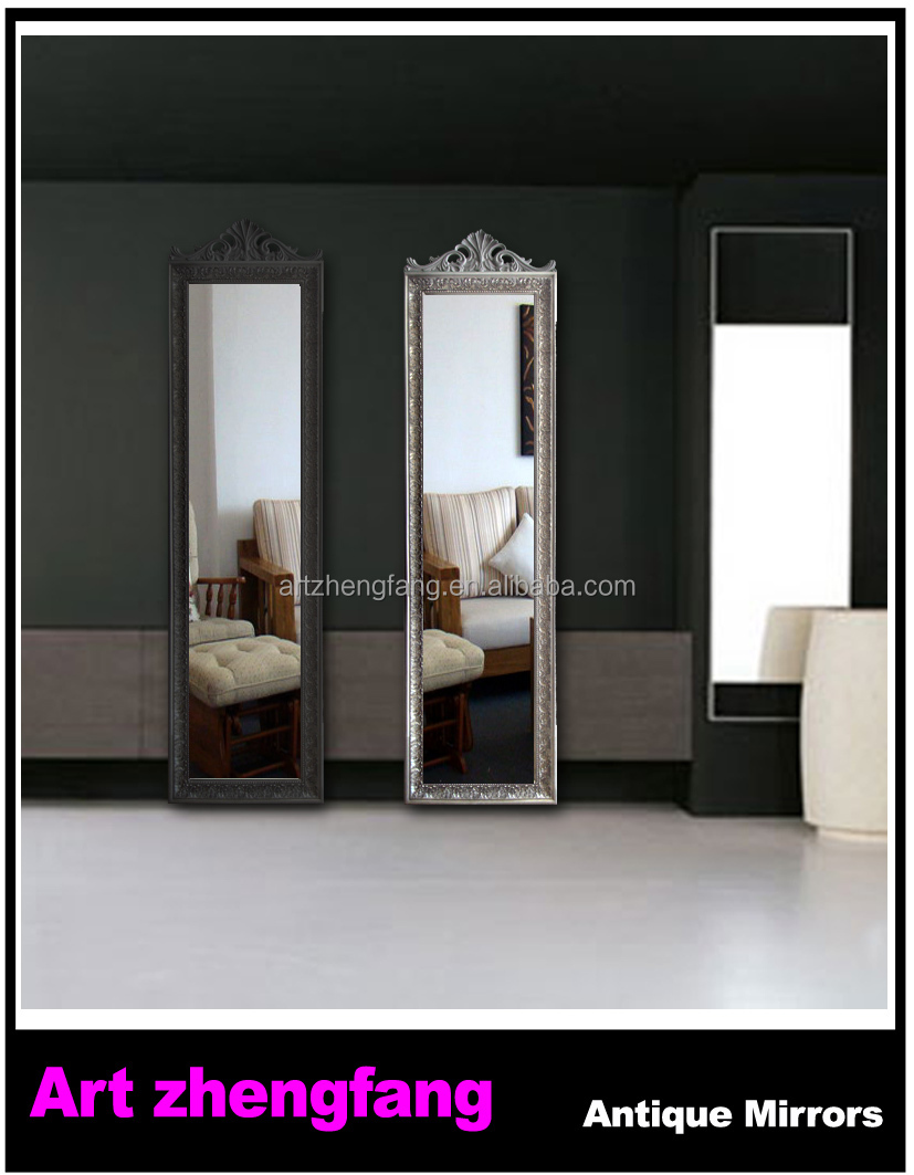 Cermin Dinding Bingkai Bambu Ruang Tamu Kayu Seni