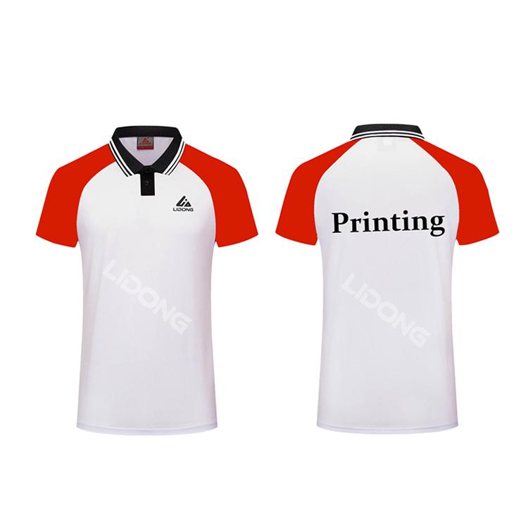 Thăng hoa thể thao cam t-shirt tùy chỉnh t áo sơ mi thiết kế in ấn