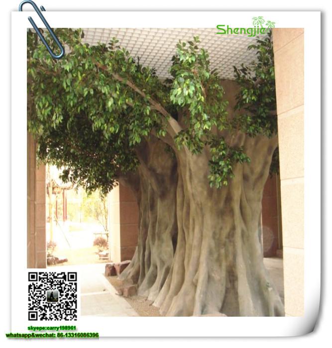 Sjrs 4 Make Artificial Trees Home Decoration Ficus Retusa Bonsai Tree
