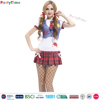 wholesale school girl cosplay costume carnival worker costume