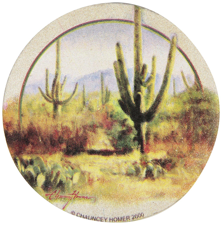 Thirstystone Drink Coaster Set, Saguaros