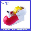 Hot selling new model pill shape plasticnovelty tape dispenser for medical promotion ABR141