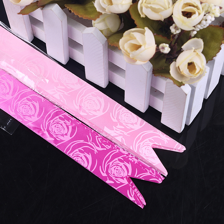 China factory direct sale rose flower design ribbon butterfly pull bow