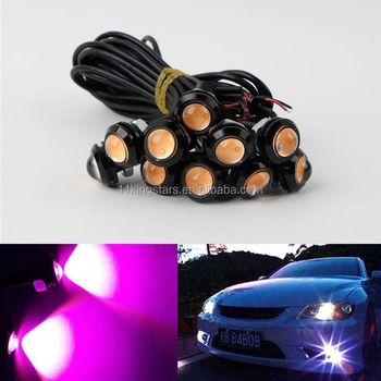 Car Led Eagle Eye Light 18mm Bulb Drl 3w Daytime Running Lights Flexible Drl