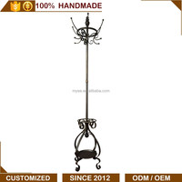 Hot sale iron commercial hotel home furniture coat stand rack