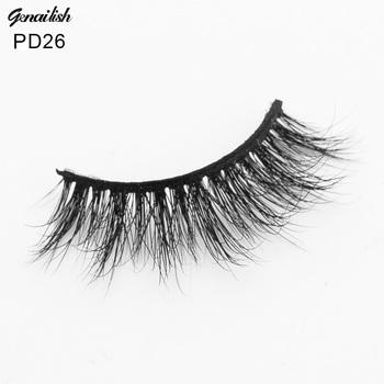 d740e5da85e Customized Logo Fashion Natural Mink 3d Eyelashes Mink Lashes D026 ...