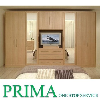 High Quality Led Tv Wardrobe Designs Wardrobe With Tv Cabinet Buy